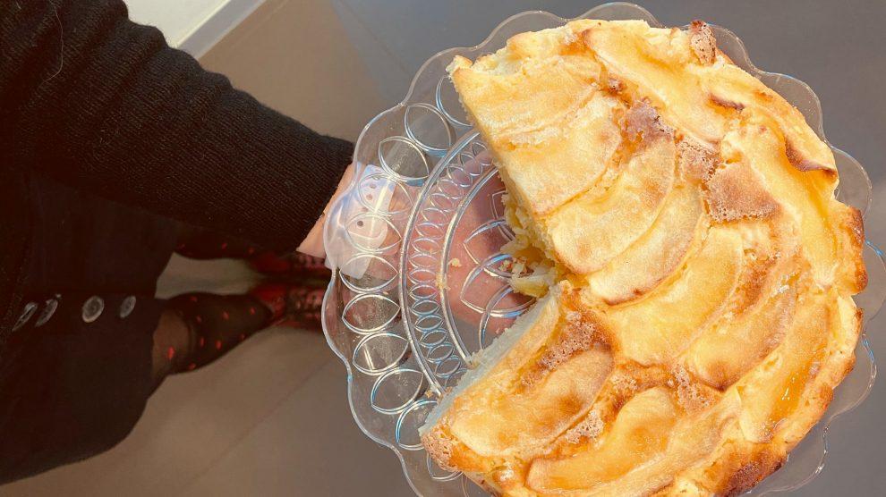 Una torta di mele